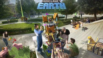 """Microsoft lança """"Minecraft Earth"""", seu concorrente para Pokémon GO"""