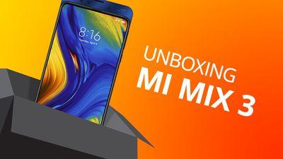 XIAOMI MI MIX 3 [Unboxing]