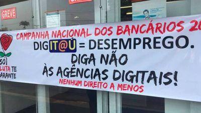 Agências digitais podem estar com os dias contados se depender dos bancários