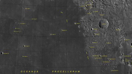 Oito locais da Lua são nomeados, incluindo onde pousou a missão Chang'e 5