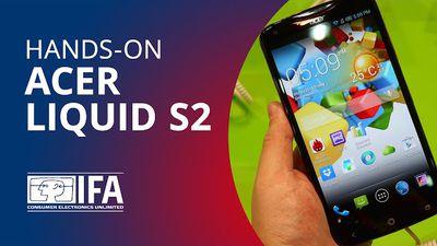 Phablet Acer Liquid S2 leva câmera 4K para dentro do seu bolso [Hands-on | IFA 2013]
