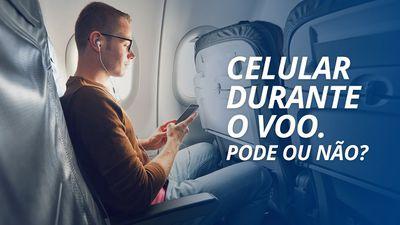Por que não se pode usar o celular durante o voo? [Curiosidade]