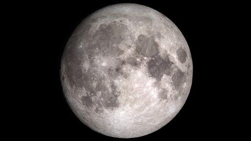 """NASA encontra moléculas de água """"pulando"""" na superfície da Lua"""