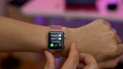 Spotify ganhará versão para Apple Watch