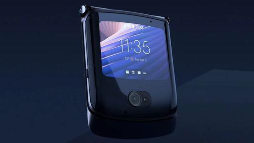 Motorola inicia atualização do Android 11 no Razr 5G