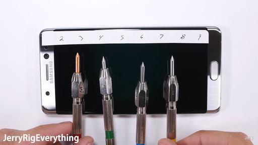 Frágil aos arranhões, Galaxy Note7 é reprovado em testes de durabilidade