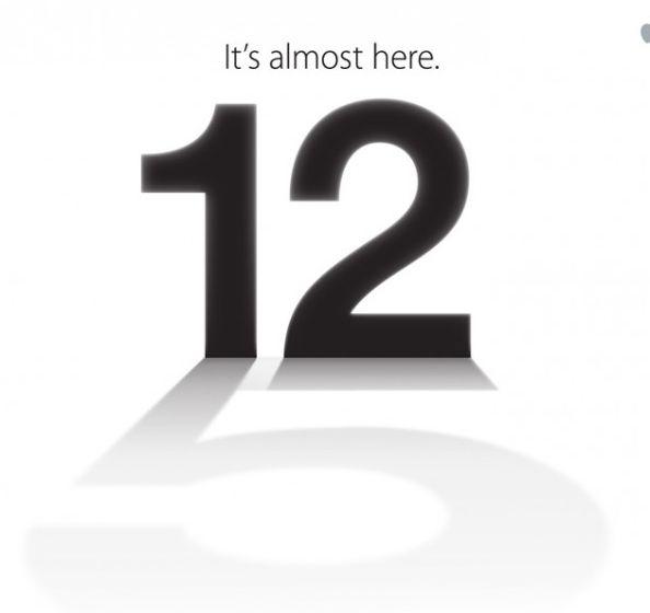 Convite evento lançamento iPhone 5