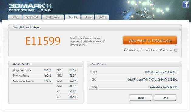 Benchmark Itautec InfoWay W7730