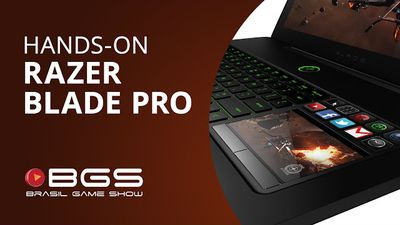 Razer Blade Pro, um super notebook focado nos gamers [Hands-on | BGS 2013]