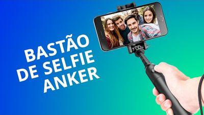 Pau de selfie Anker com bateria extra e bluetooth [Análise]