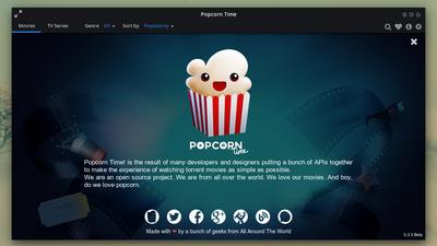 Popcorn Time perde importante domínio e sofre com saída de desenvolvedores