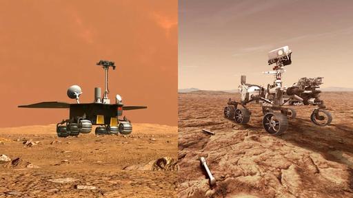 Zhurong e Perseverance: quais as diferenças entre os rovers da China e dos EUA?
