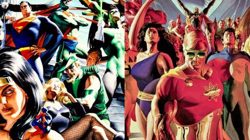 18 personagens da DC e da Marvel que são quase a mesma coisa
