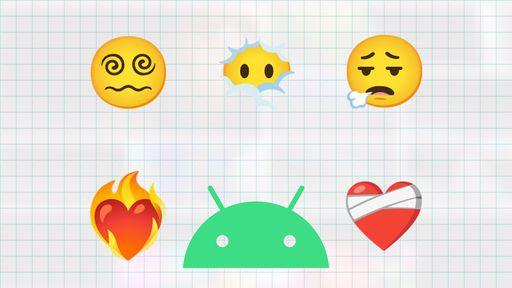Mulher de barba, coração ferido e mais: Google revela novos emojis do Android