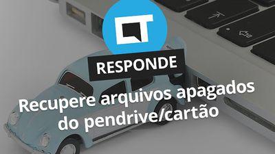 Como recuperar arquivos apagados do pen drive ou cartão de memória [CT Responde]