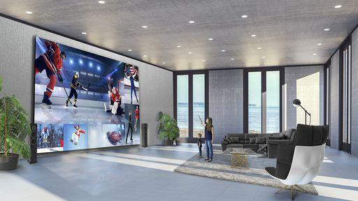 LG quer transformar sua casa em um cinema com tela 8K de 325 polegadas