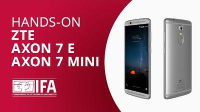 Axon 7 e Axon 7 Mini, os tops de linha baratos da ZTE [Hands-on IFA 2017]