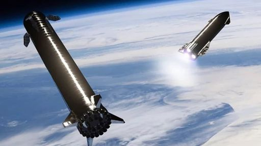 SpaceX já desenvolveu metade do protótipo do booster Super Heavy
