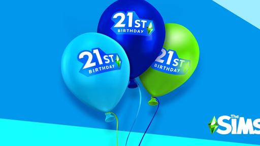 21 anos, 21 brindes! The Sims comemora aniversário com novos conteúdos