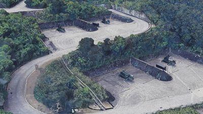 Google Maps revela localização de bases militares secretas em Taiwan