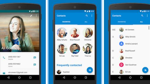 Atualização do Google Contatos remove informações duplicadas no Android