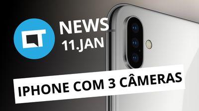 Samsung vaza visual do S10; iPhone 11 terá três modelos, diz jornal e+ [CT News]