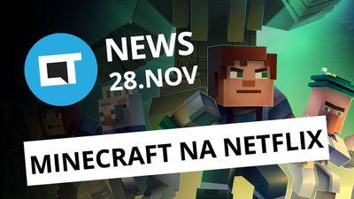 Série de Minecraft na Netflix; Facebook escondeu roubo de dados e+ [CT News]