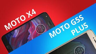 Moto G5S Plus vs Moto X4 [Comparativo]