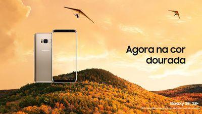 Samsung confirma versão dourada do Galaxy S8 no Brasil