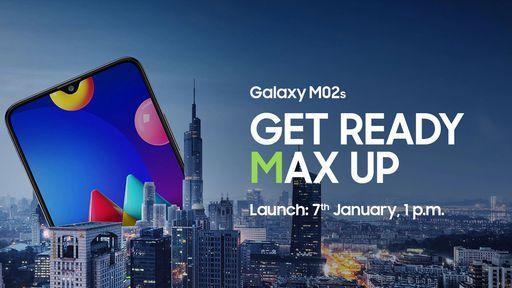 Samsung revela Galaxy M02s e confirma lançamento para esta semana