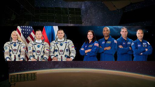 Crew-1: astronautas chegam à ISS e se juntam à tripulação da Expedição 64