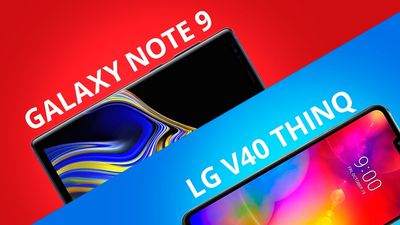 Galaxy Note 9 vs LG V40 ThinQ [Comparativo]