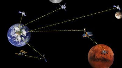 NASA lança as bases de uma internet interplanetária