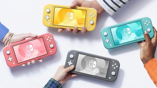 Nintendo Switch Lite chega ao Brasil em setembro por R$ 1.899