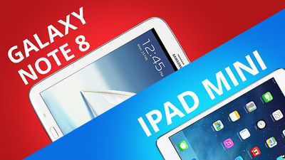 Galaxy Note 8 VS IPad Mini? [Comparativo]