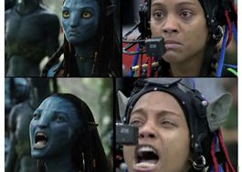 Avatar em produção: a captura de movimento