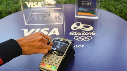 Visa lança anel que substitui cartão para atletas patrocinados nas Olimpíadas