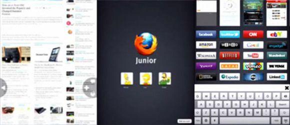 Mozilla Junior para iPad
