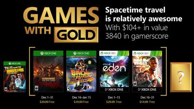 Lista de jogos gratuitos da Xbox Live Gold de dezembro é divulgada