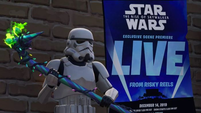 Confirmado! Fortnite exibirá cena exclusiva de Star Wars: A Ascensão Skywalker