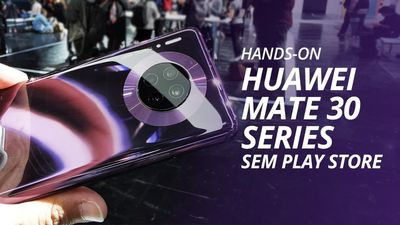 Huawei Mate 30 Series: SEM Play Store do Google [Hands-On]