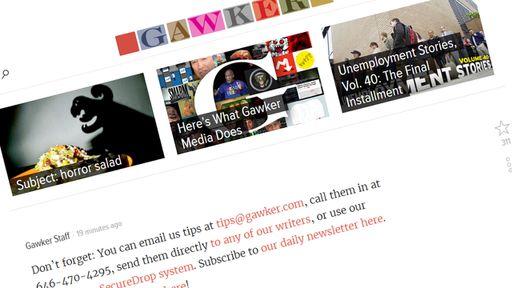 Gawker.com anuncia fim do site