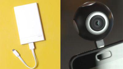Asus traz ao Brasil câmera 360° e carregador portátil ultrafino