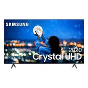 Samsung Smart TV Crystal 70 UHD 4K 2020 TU7000 Bluetooth Borda ultrafina Cinza em Oferta no Girafa