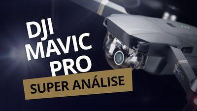 Drone DJI Mavic Pro [Análise / Review]