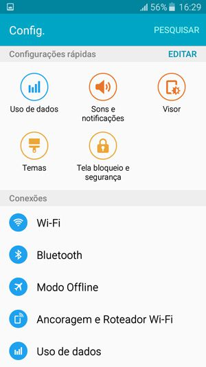 Samsung Galaxy J5 - Screenshots