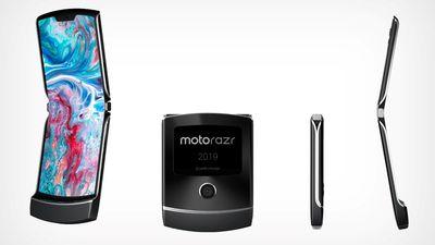 Designer usa patente da Motorola para imaginar como será o Moto Razr dobrável