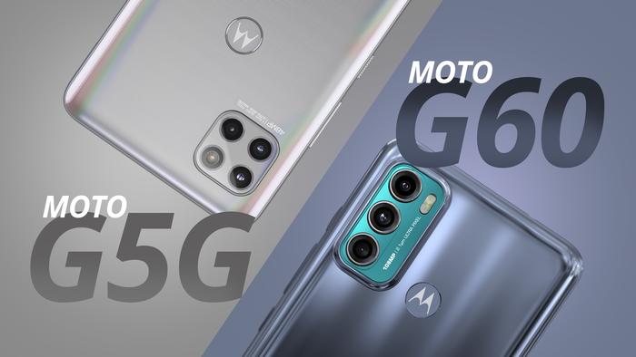 Moto G60 vs Moto G 5G | Quer mais tela e bateria ou rede 5G?