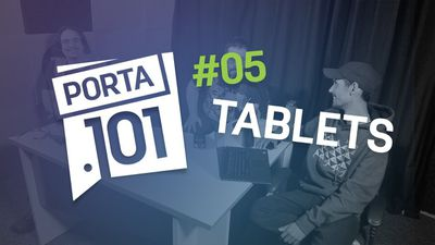 Tablets: existe vida além do iPad no Brasil? - PODCAST PORTA 101 #5
