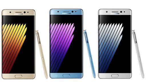 Vazam fotos do novíssimo Galaxy Note7, que será lançado nesta terça (02)